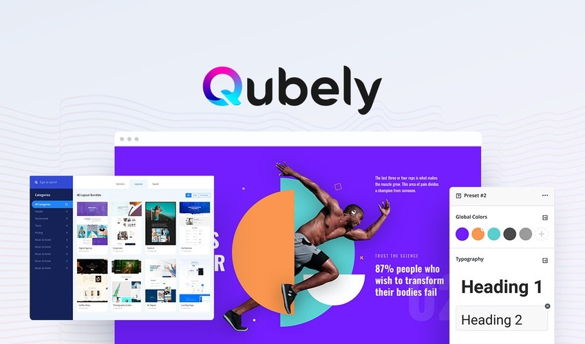 Qubely lifetime Deal – Website page builder.