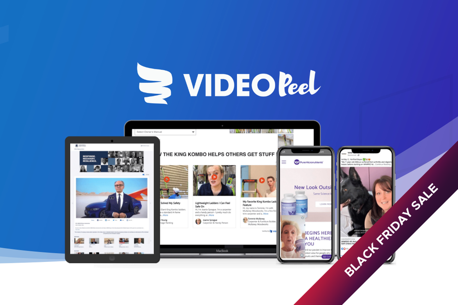 VideoPeel | Exclusive Offer from AppSumo - 69$ for LIFETIME