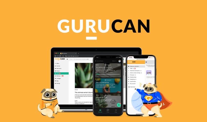 Gurucan Lifetime Deal | Sell online courses!