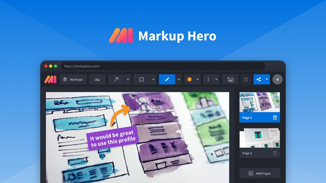 Markup Hero | Exclusive Offer from AppSumo - 29$ for LIFETIME