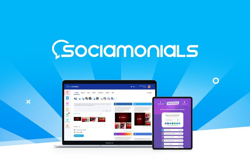 Sociamonials | Exclusive Offer from AppSumo - 69$ for LIFETIME