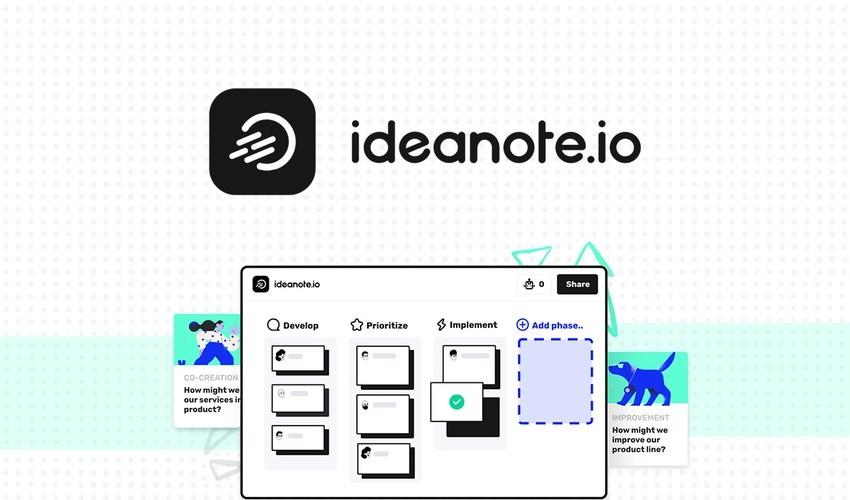 Ideanote Lifetime Deal | Ideanote for Lifetime
