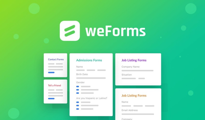 weForms | Exclusive Offer from AppSumo