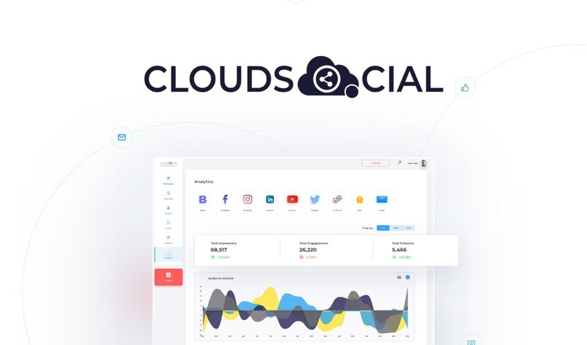 CloudSocial Lifetime Deal & Discount [Use for Lifetime] Never pay.