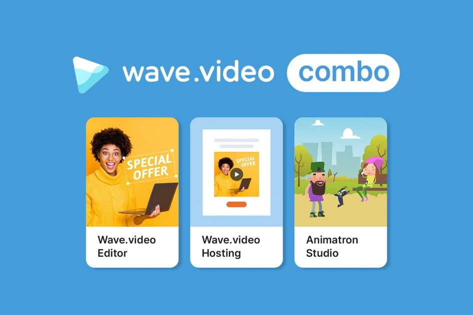 Wave.video | Exclusive Offer from AppSumo - 49$ for LIFETIME