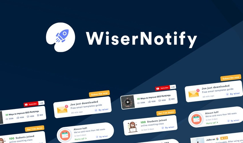 WiserNotify Lifetime Deal. [Use for Lifetime] Never pay.