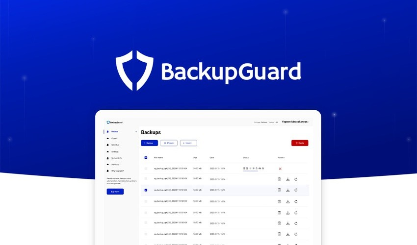 BackupGuard WordPress Lifetime Deal