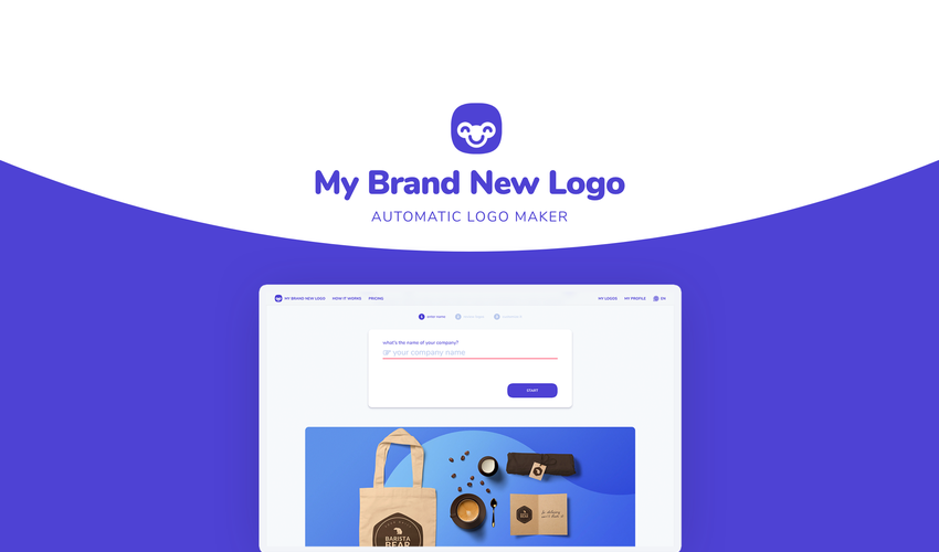 My brand new logo Lifetime Deal-Pay Once And Never Again